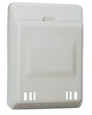 シブタニ玄関扉用郵便受箱DP-68N型スチール製焼付塗装仕上[カラー:クリーム・ブラウン・アイボリーホワイトの3色の中からお選びください]
