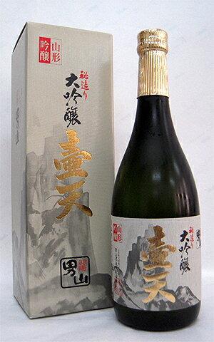 男山「大吟醸壷天」<男山酒造>