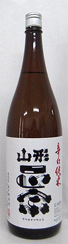 辛口純米酒好きにうってつけ!【山形正宗 辛口純米「出羽燦々(でわさんさん)」1800ml】<水戸部酒造>