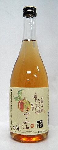熟した梅の旨みタップリ♪【「子宝 完熟南高梅酒」720ml】<楯の川酒造>