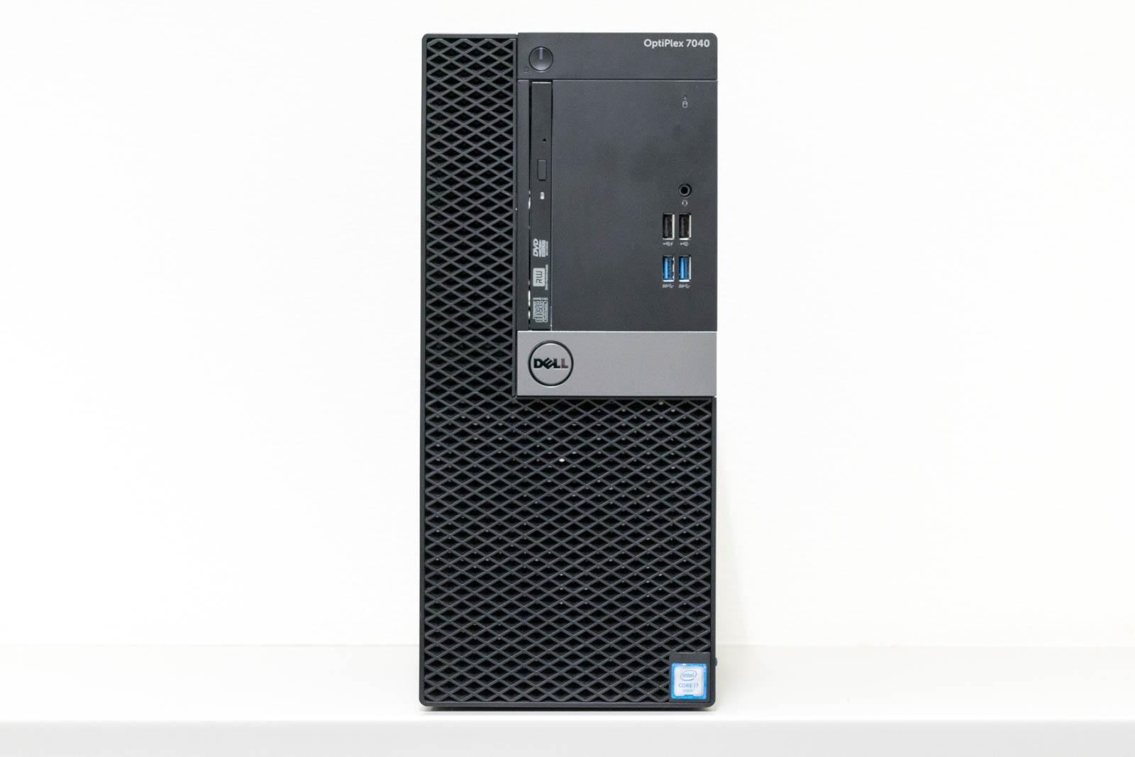 DELL OptiPlex 7040 ミニタワー, Windows 10 Pro 64bit, Core i7-6700, メモリ16GB(8GBx2), 1TB HDD, GeForce GTX745 4GB 【中古】