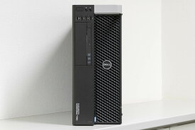 DELL Precision Tower 5810 Xeon E5-1650 v3, メモリ32GB(8GBx4), NVIDIA Quadro K4200 4GB, Windows 10 Pro 64bit, 256GB SSDx1 ,2TB HDDx1【中古】