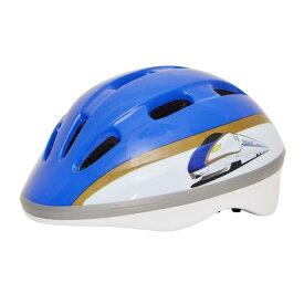 E7系かがやき(北陸新幹線)ヘルメット[子供用 ヘルメット キッズ 自転車 新幹線 鉄道 キッズ ストライダー SG規格 kids 男の子]