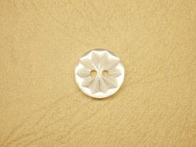 シャツ・ブラウス用ボタン-花-13mm6個で300円PBTM-70814-13【ネコポス便OK】