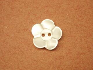 シャツ・ブラウス用ボタン-花-13mm6個で330円PBAZ-4842-13【ネコポス便OK】