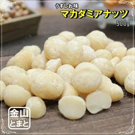 おつまみ マカダミアナッツ 500g うす塩味 送料無料