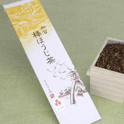 ≪お茶のあずま園≫自家焙煎工場の砂炒り焙じ機で丁寧に火入れした加賀棒ほうじ茶200gx1袋