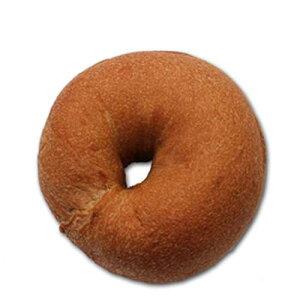【ベーグルセット】【糖質制限ベーグル】【低糖質パン】【ベーグル徳用】ふすまプレーンベーグル(10個入)≪selfish color BIKKE≫