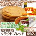 【糖質制限 低糖質】【低カロリー】【グルテンフリー】クラウドブレッド(5枚)≪selfish color BIKKE≫