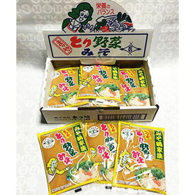 ≪本江醸造食品≫まつや とり野菜みそ1箱12袋入り(200g×12袋)【金沢名物】