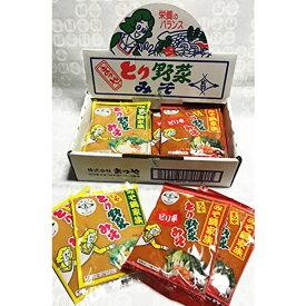 ≪本江醸造食品≫まつや とり野菜みそ&ピリ辛詰合せ1箱12袋入り(200g×12袋)【金沢名物】