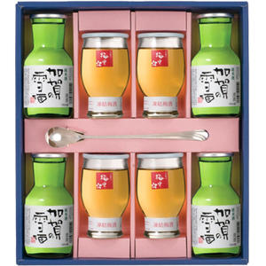 【お中元】≪日榮 中村酒造≫金澤凍結酒セット 加賀の雪酒&こおり梅里