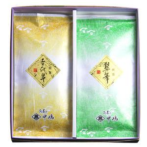 煎茶の詰め合わせ(翠峰80gx1、千代翠100gx1)