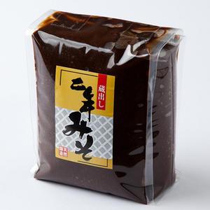 ≪山木食品工業≫天然醸造蔵出し二年味噌袋入り1kg