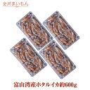 送料無料 ホタルイカ 富山湾産ホタルイカ約600g(150g×4パック)約72尾 ほたるいか 金沢まいもん寿司厳選 おつまみ 晩…