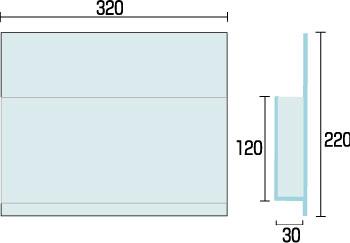 カードケース 店舗用品 カードケーススタンド看板オプション CCSK-C320A4 サインディスプレイ アクリルプレート 飲食 オフィス 量販店 携帯ショップ アミューズメント 立て看板