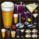 シール ビール ワインドリンク 装飾 デコレーションシール チョークアート 窓ガラス 黒板 看板 POP ステッカー 用