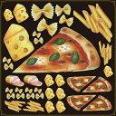 シール ピザ チーズレストラン 装飾 デコレーションシール チョークアート 窓ガラス 黒板 看板 POP ステッカー 用