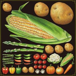 シール トウモロコシ ジャガイモ 野菜 装飾 デコレーションシール チョークアート 窓ガラス 黒板 看板 POP ステッカー (最低購入数量3枚〜)