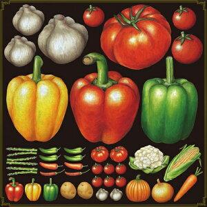 シール パプリカ トマト 野菜 装飾 デコレーションシール チョークアート 窓ガラス 黒板 看板 POP ステッカー (最低購入数量3枚〜)