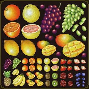 シール ぶどう グレープフルーツ 装飾 デコレーションシール チョークアート 窓ガラス 黒板 看板 POP ステッカー (最低購入数量3枚〜)