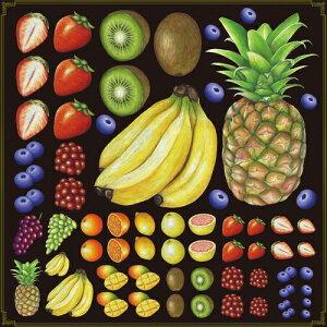 シール バナナ パイナップル 苺フルーツ 装飾 デコレーションシール チョークアート 窓ガラス 黒板 看板 POP ステッカー (最低購入数量3枚〜)