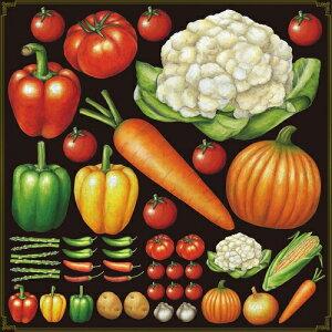 シール ピーマン ニンジン カリフラワー 野菜 装飾 デコレーションシール チョークアート 窓ガラス 黒板 看板 POP ステッカー (最低購入数量3枚〜)