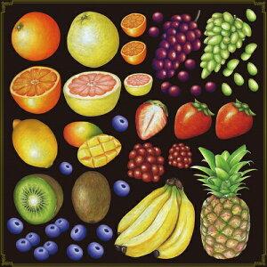 シール 輪切りオレンジ グレープフルーツ 装飾 デコレーションシール チョークアート 窓ガラス 黒板 看板 POP ステッカー (最低購入数量3枚〜)