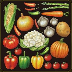 シール 玉ねぎ 芋 トマト 野菜 装飾 デコレーションシール チョークアート 窓ガラス 黒板 看板 POP ステッカー (最低購入数量3枚〜)