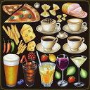 シール ビール酒 ピザドリンク 装飾 デコレーションシール チョークアート 窓ガラス 黒板 看板 POP ステッカー 用