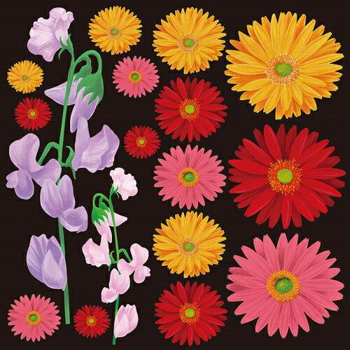 シール マーガレット 花びら 装飾 デコレーションシール チョークアート 窓ガラス 黒板 看板 POP ステッカー 用