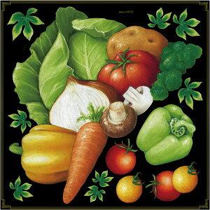 シール 野菜 盛り合わせ にんじん トマト じゃがいも パプリカ ピーマン 玉ねぎ マッシュルーム キャベツ アイビー 装飾 デコレーションシール チョークアート 窓ガラス 黒板 看板 POP ステッ