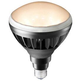 岩崎電気 LDR11L-H/B827(旧形式:LDR14L-H/B830) レディオックLEDアイランプ 11W 〈E26口金〉 電球色 白熱電球135W・180W相当 黒色塗装