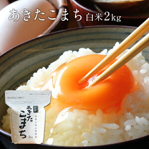 新米 2kg 秋田県産 あきたこまち 白米 米 令和2年産 お米 こめ メール便配送品と同梱不可 おうち時間