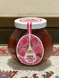 【ブルガリア産】ローズペタルジャム( 230g) 北欧 紅茶 かんだデザート ダマスクローズ ジャム ブルガリア 230g 花びら フラワーソース バラ