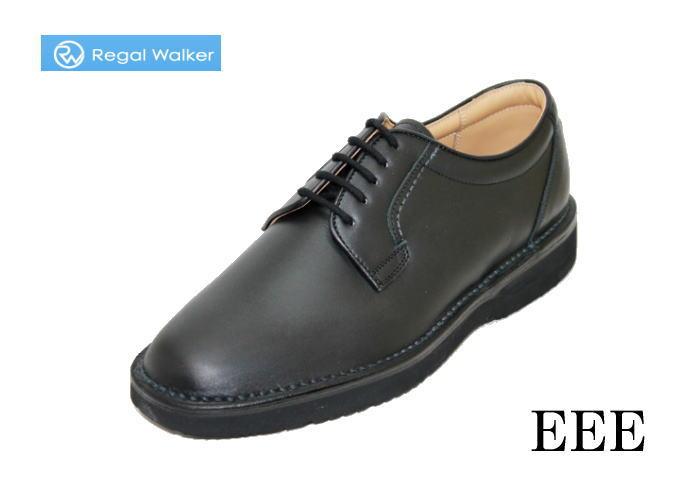 【ビジネスシューズ】 REGAL リーガル ウォーキングシューズ REGAL ウォーカー601WAH 黒 3E 紳士靴 男性用シューズビジネス靴/クツ/シューズ/本革/外羽根/外羽根式/撥水加工/幅広/革靴/通気性
