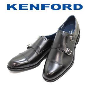 REGAL KENFORD(リーガル ケンフォード)WモンクストラップKN83 ABJ 黒(ブラック)3E ビジネスシューズ 革靴 メンズ用(男性用)本革(レザー) 靴【送料無料】【コンビニ受取は別途プラス110円】