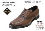 GORE-TEXゴアテックス靴マドラスウォークmadras-WALKMW8802黒4E本革メンズビジネスシューズプレーントゥー