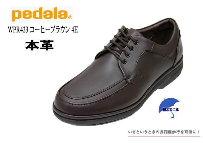 ウォーキングシューズASICS PEDALA WPR423コーヒーBR4E【メンズ】【アシックス】【靴】