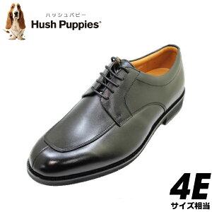 父の日 実用品 HUSH-PUPPIES(ハッシュパピー)メンズビジネス M248N(M0248N) 黒(ブラック)4E革靴 メンズシューズ ビジネスシューズ メンズ用(男性用)本革(レザー)日本製 2021