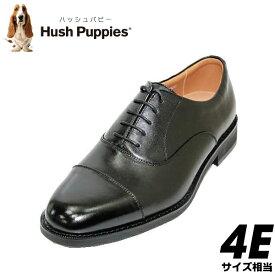 HUSH-PUPPIES(ハッシュパピー)ストレートチップM246N(M0246N)黒(ブラック) 4E ビジネスシューズ 革靴 幅広 メンズ用(男性用)本革(レザー)24.5cm 25cm 25.5cm 26cm 26.5cm 27cm