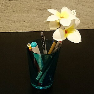 フラワーペン プルメリア(造花付ボールペン)