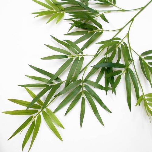 【造花 笹】バンブースプレー(笹竹・フェイクグリーン・造葉・人工観葉植物)68cm
