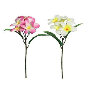 【造花】プルメリアピック(アートフラワー)