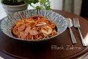 【黒色ゼブラ柄の洋風の食器シリーズ】黒色(ゼブラ)の10インチの深鉢 05P03Dec16