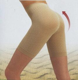 ○肌着でダイエット ルックマジックアップ100D3分丈media-LengthパンティガードルUP3
