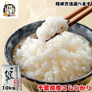 令和2年産 千葉県産 こしひかり 10kg (5kgx2袋) ■五分搗き 七分搗き 白米 精米方法選べます お米 ギフト