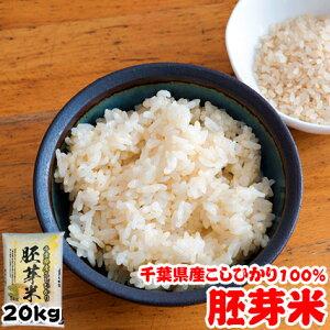 令和2年産 千葉県産 こしひかり 胚芽米 20kg(5kgx4袋) お米 ギフト