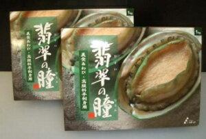 翡翠の瞳 あわび1kg 冷凍(生食用)(10個入り)(片貝付き)