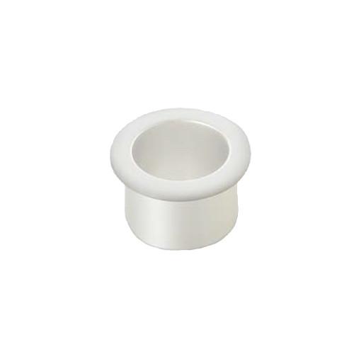 配線孔 【LAMP】  XS31W D=φ31 ホワイト ◇210-042-075
